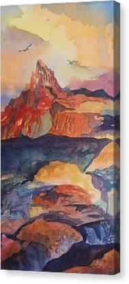 Natures Palette Canvas Print by Ellen Levinson