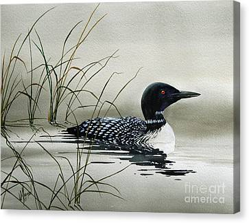 Nature's Serenity Canvas Print by James Williamson