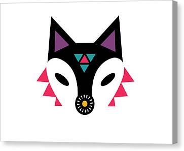 Navajo Fox Canvas Print by Susan Claire