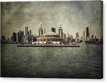 Navy Pier Canvas Print by Andrew Paranavitana