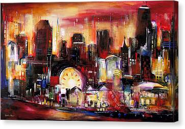 Navy Pier - Chicago Canvas Print by Kathleen Patrick