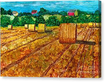 Nebraska Canvas Print by Alene Sirott-Cope