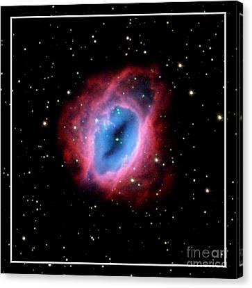 Nebula And Stars Nasa Canvas Print by Rose Santuci-Sofranko