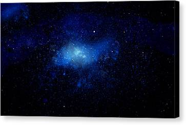 Nebula Ceiling Mural Canvas Print by Frank Wilson