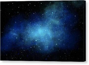 Nebula Mural Canvas Print by Frank Wilson