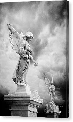 Necropolis 12 Canvas Print by Colin and Linda McKie