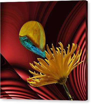 Nectar Of The Gods Canvas Print by Barbara St Jean