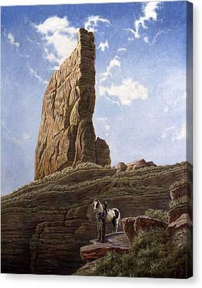Needle Rock Canvas Print by Gregory Perillo