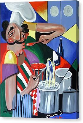 Needs Salt Canvas Print by Anthony Falbo