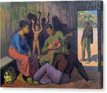 Negro Spritual, 1959 Canvas Print by Osmund Caine