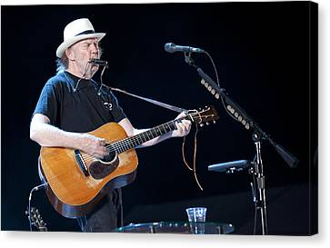 Neil Young Canvas Print by Shawn Everhart