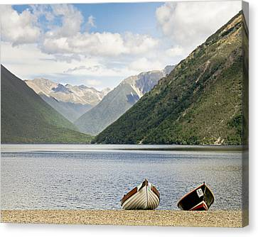Nelson Lakes New Zealand Canvas Print by Barbara Smith
