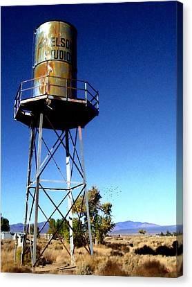 Nelson Studio  Color - Lucerne Valley Canvas Print by Glenn McCarthy Art and Photography