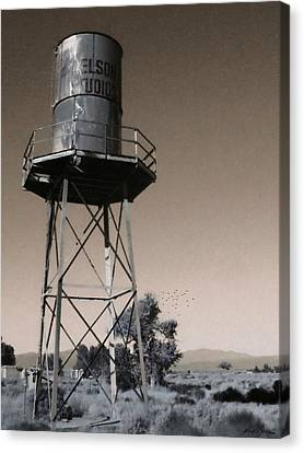 Nelson Studios Sepia - Lucerne Valley Canvas Print by Glenn McCarthy Art and Photography