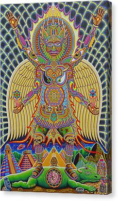 Neo Human Evolution Canvas Print by Chris Dyer