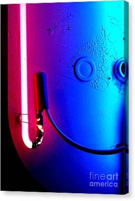 Neon Glow 2 Canvas Print by Newel Hunter