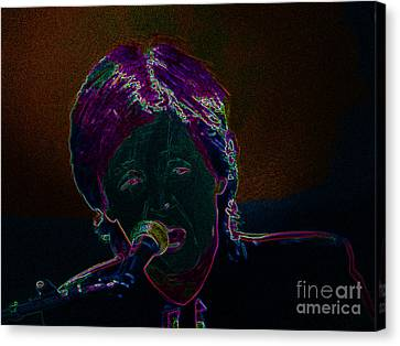 Neon Sir Paul Canvas Print by Tina M Wenger