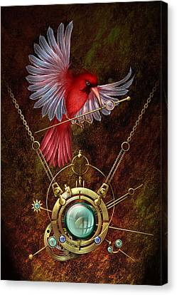 Nest Canvas Print by Ciro Marchetti