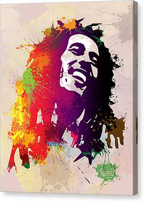 Nesta Robert  Canvas Print by Anthony Mwangi