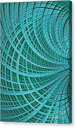 Network Canvas Print by John Edwards