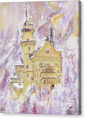 Neuschwanstein Castle  Canvas Print by Helena Bebirian