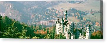 Neuschwanstein Castle Schwangau Bavaria Canvas Print by Panoramic Images