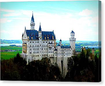 Neuschwanstein Castle  Canvas Print by The Creative Minds Art and Photography