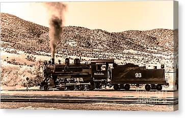 Nevada Northern Railway Canvas Print by Robert Bales