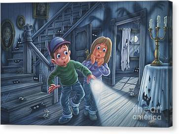 Never Alone Canvas Print by Phil Wilson