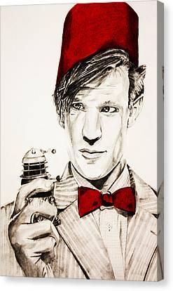 Never Ending Time War Canvas Print by Nick Vogt
