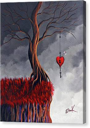 Never Letting Go Canvas Print by Shawna Erback