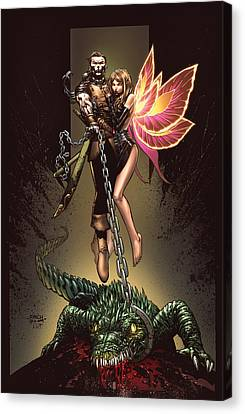 Neverland 01a Canvas Print by Zenescope Entertainment