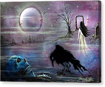 Nevermore Evermore  Canvas Print by Christine Cholowsky