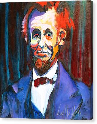 New Abe Canvas Print by Les Leffingwell