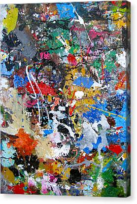 New Abstract Canvas Print by Melinda Saminski