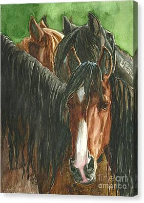 New Beginnings Canvas Print by Linda L Martin