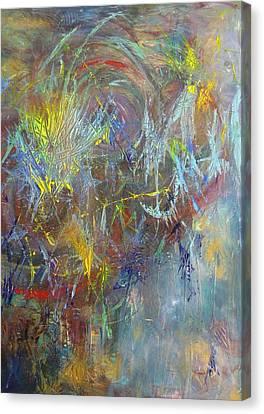 New Constellation Canvas Print by Karen Lillard