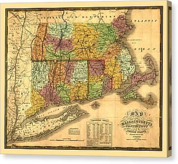 New England Canvas Print by Gary Grayson
