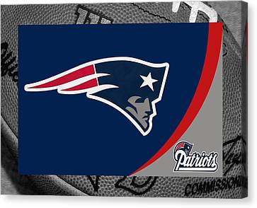 New England Patriots Canvas Print by Joe Hamilton