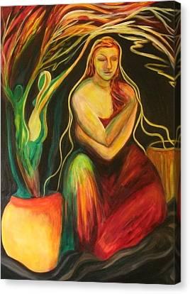 New Growth Canvas Print by Carolyn LeGrand