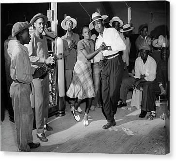 New Jersey: Dance, 1942 Canvas Print by Granger