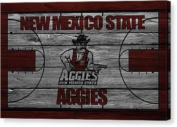 New Mexico State Aggies Canvas Print by Joe Hamilton