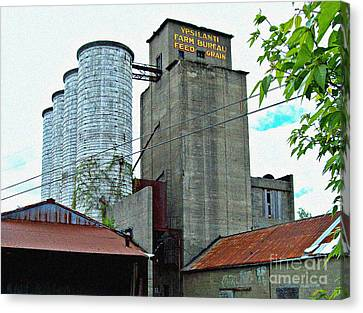 New Micro-brewery Canvas Print by MJ Olsen