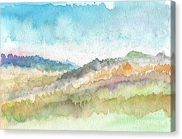 New Morning Canvas Print by Linda Woods