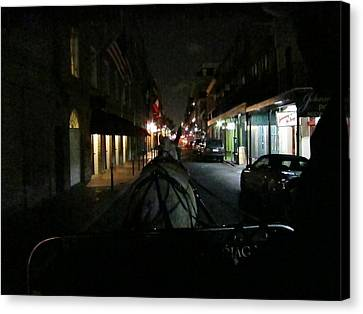 New Orleans - City At Night - 12129 Canvas Print by DC Photographer