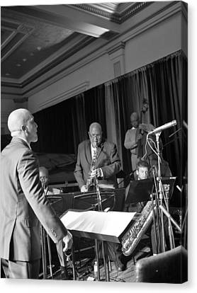 New Orleans Jazz Orchestra Canvas Print by William Morgan