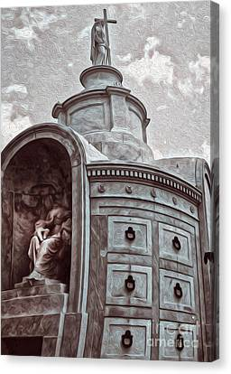 New Orleans - St.louis Cemetery Canvas Print by Gregory Dyer