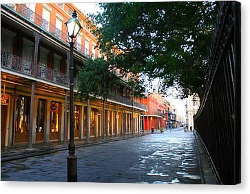New Orleans Streets 2 Canvas Print by Ryan Burton