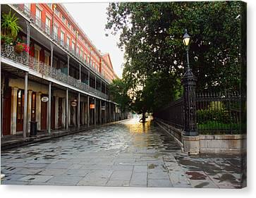 New Orleans Streets Canvas Print by Ryan Burton