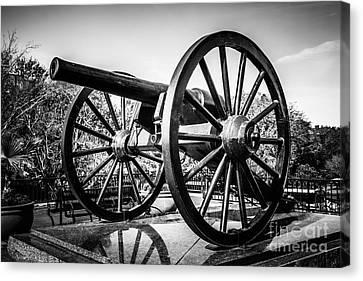 New Orleans Washington Artillery Park Cannon Canvas Print by Paul Velgos